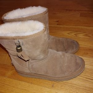 Ugg beige Boots Size 5